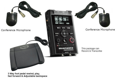Marantz PMD661 Recorder\Transcriber package no PC needed