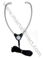 Martel DE36 Stethoscope Transcription Headset