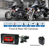 Police Motorcycle Camera System, Police ATV, Boat Camera DVR system Recorder
