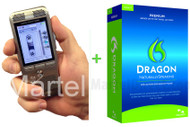 Lawyers legal Dictation recorder and Dragon voice recognition system kit