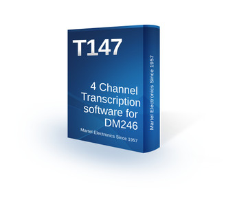 4 track courtroom transcription software