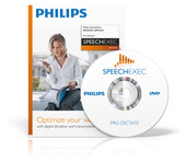 Philips transcription software for use with the usb foot pedal