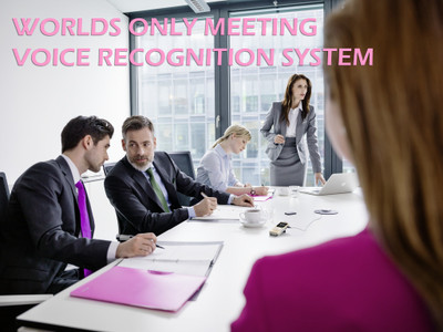 Multi-voice recognition conference/recording system with software