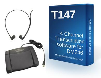 4 track transcription software kit