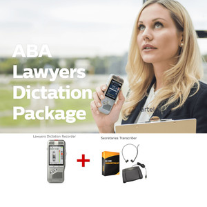 American Lawyers dictation equipment