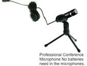 Extra Microphone for Portable Easy Meeting Digital Recorder Package