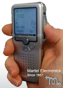 Dictation Recorder in hand