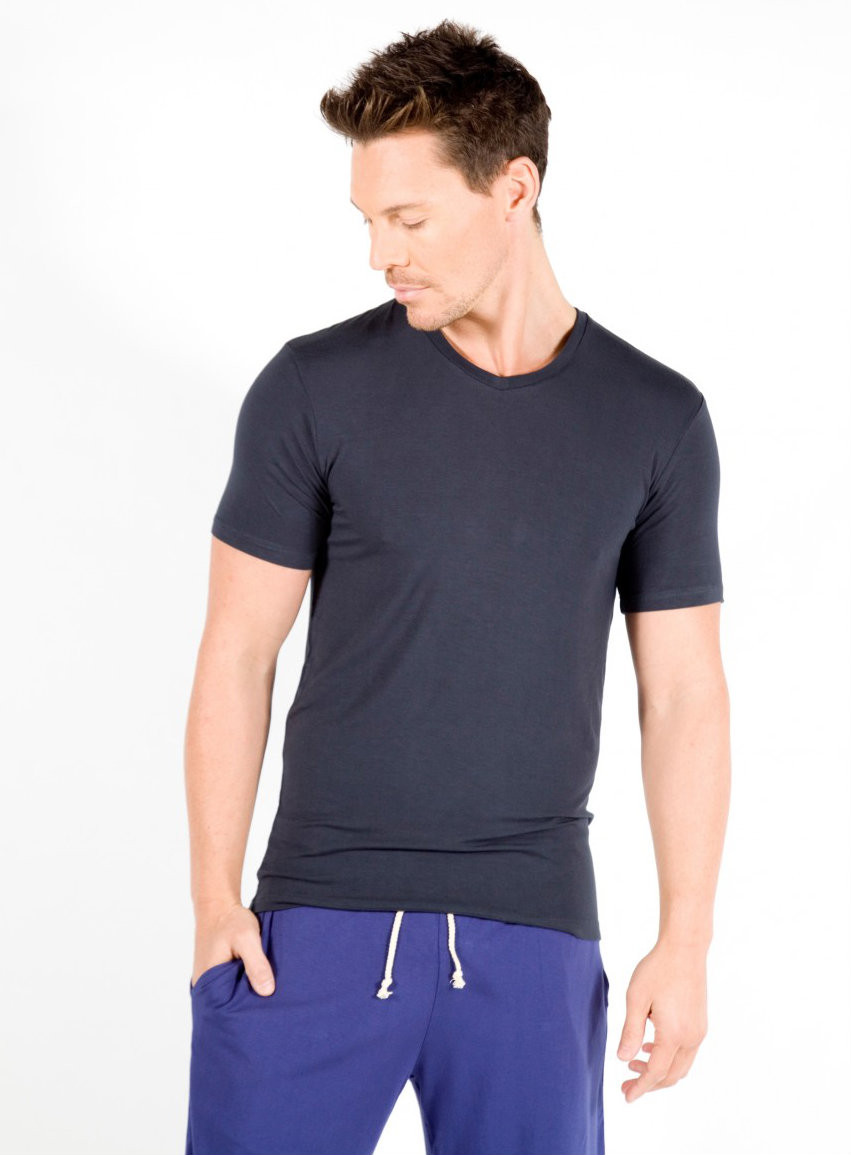 Bamboo Tee - Colour Pictured: Charcoal