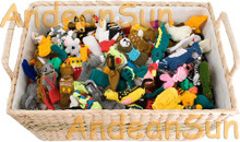 36 (3 Dozen) Hand Knitted Finger Puppets ASSORTED Animals - 15941776