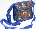 16201107 Embroidered Crossbody Bag