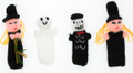 FP - People Assorted Characters - RAW - Rustic Quality - Hand Knitted Finger Puppets - US STOCK