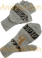 Glittens Double Knitted - Natural - 16783214