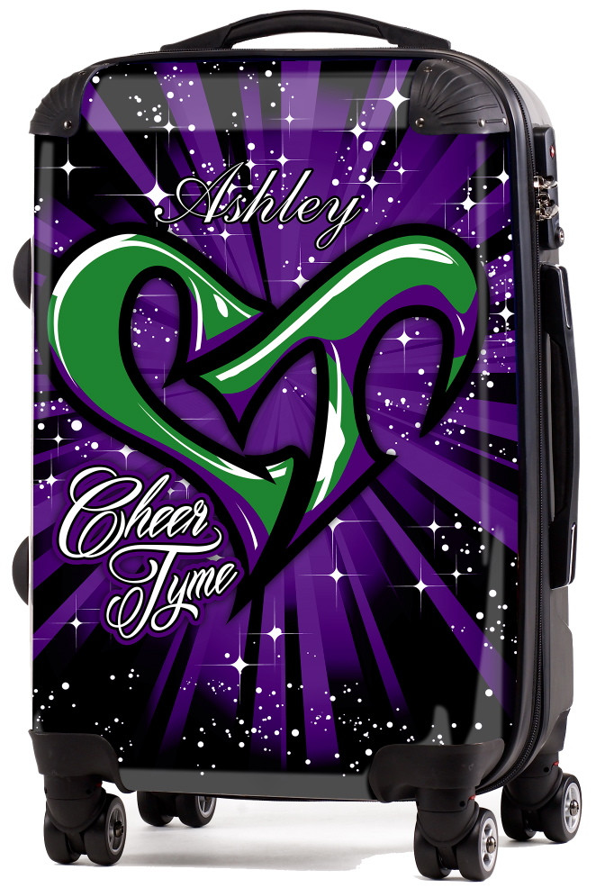 Cheer Tyme 20 Quot Carry On Luggage Custom Cheer Luggage