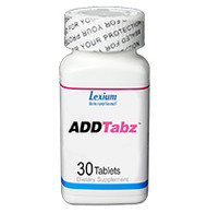 ADDTabz Mental Focus & Performance - 1 Bottle (30 Tablets)