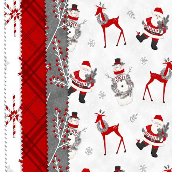 frosty friends flannel