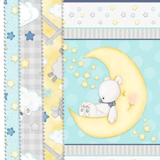 sleepy bear flannel