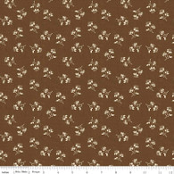 Toile de Jouy - Blossoms Brown