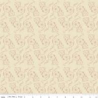 Toile de Jouy - Toile Scroll Cream
