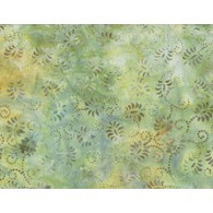 Batik - Dancing Leaves Light Green