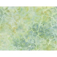 Batik - Flower Field Light Greens