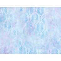Batik - Palm Texture Light Blue
