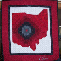Ohio Wall Hanging Quilt