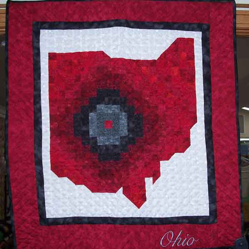 Ohio Wall Hanging Quilt Helping Hands Quilt Shop