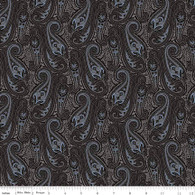 Something Paisley Black