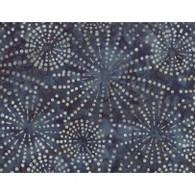 Batiks - Blue/Gray w/White Circles