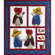 Sue & Sam - Wall Quilt Kit