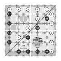 Ruler Creative Grids 5.5X5.5 Wh/B