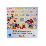 Spools Puzzle 1000 Peices