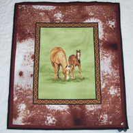 Horse Panel Quilt - Wall Hanging
