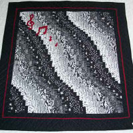 Bargello Quilt - Wall Hanging