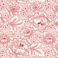 Colebrook - Red Floral