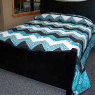 Chevron Quilt - 94 by 104