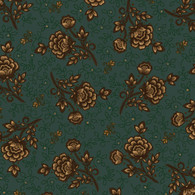 Helping Hands - Wild Rose on Teal