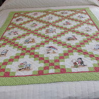 Little Darlings Crib Quilt - 43 by 58