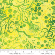 Bonfire Batiks - Yellow Jungle