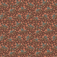 Bethel - Mini Floral Brown