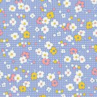 Nana Mae II - Dots & Floral Blue
