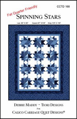Spinning Star Quilt - Pattern
