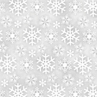 Frosty Friends Flannel - Snowflakes