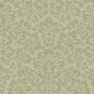 Gentle Garden Flannel - Paisley Floral Green