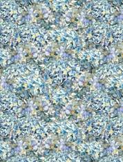 Hydrangea Dreams - Packed Hydrangeas Blue