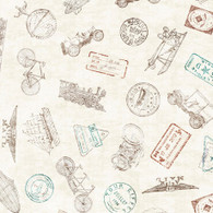 Wanderlust - Passport Stamps