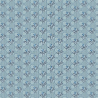Indigo Cottage - Circle Floral Blue