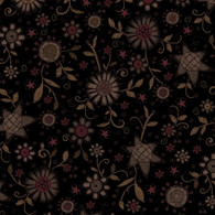 Itty Bitty - Sun Floral Black