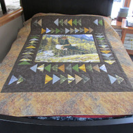 Majestic Eagle Quilt - 65 by 84