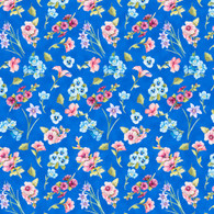 Papillon Parade - Medium Blue Small Floral